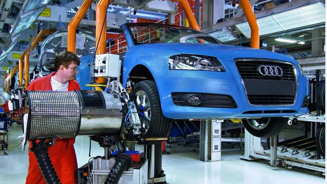 Audi'nin üretim merkezinde arama yapıldı