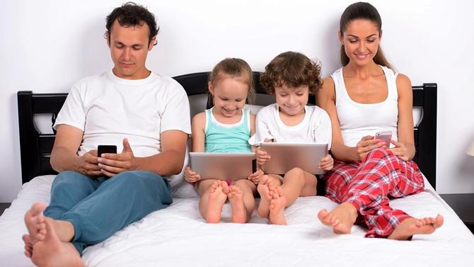 Çocuklarda teknoloji bağımlılığına dikkat!