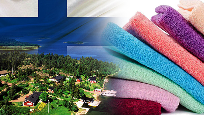 Finlandiyalı müşteri fason havlu ürettirecek
