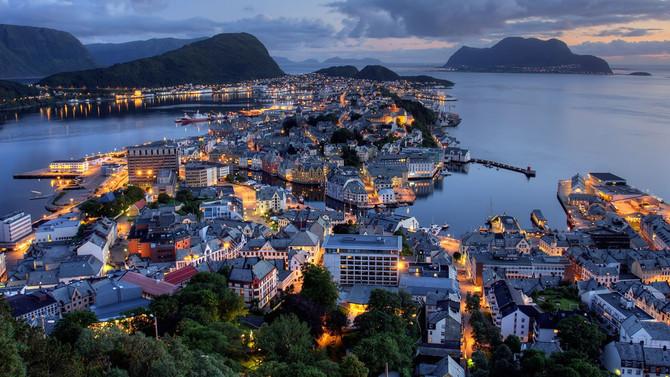 En mutlu ülke Norveç oldu