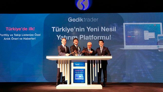 Gedik Yatırım, Gedik Trader'i hizmete sundu