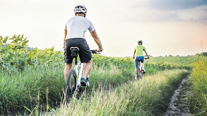 Baharın en güzel 'bisiklet rota'ları