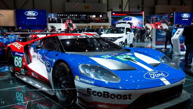 İstanbul Autoshow'da Ford GT Race Car rüzgarı esecek
