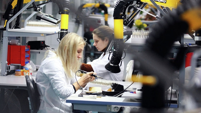 Rusya'da sanayi üretimi tekrar yükselişe geçti