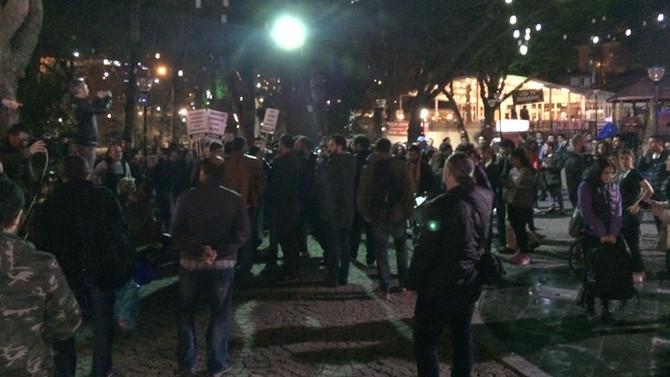 Referandum sonuçlarına protesto