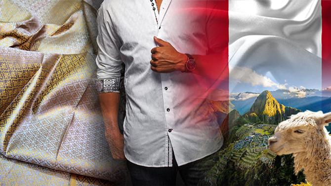 Perulu gömlek üreticisi, kumaş ithal etmek istiyor