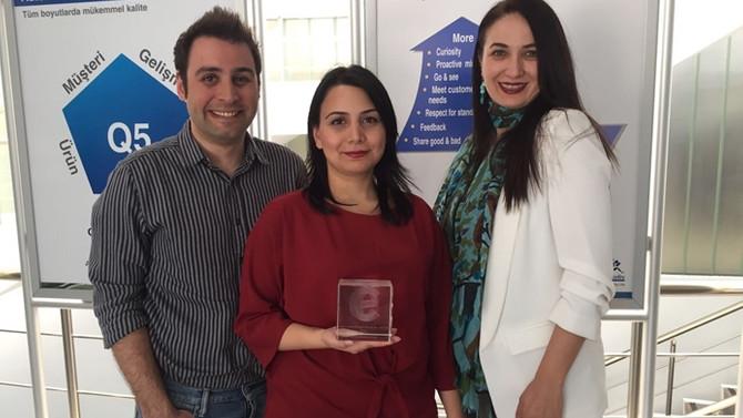 Autoliv Türkiye'ye ödül
