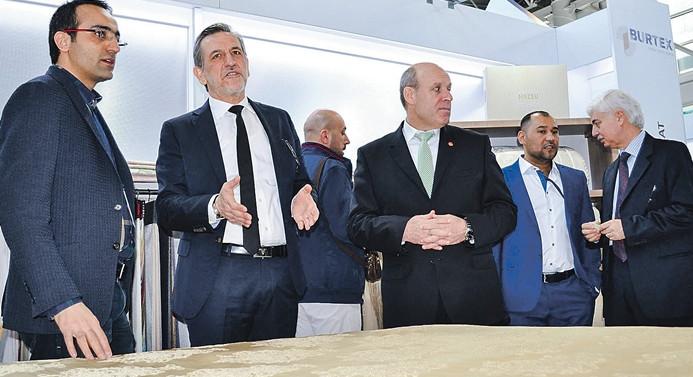 26 ülkeden heyetler ev tekstili için Bursa'ya 'görücü' geldi