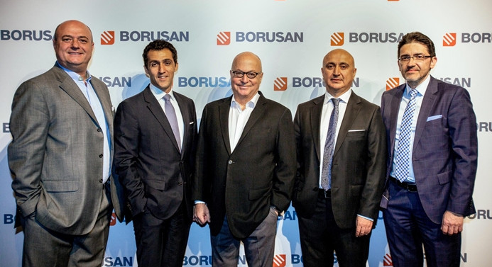 Borusan krizlere takılmadı