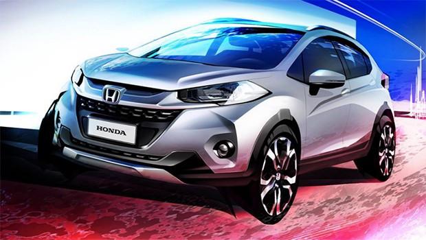 Honda'nın yeni crossover'ı WR-V'den ilk görüntüler