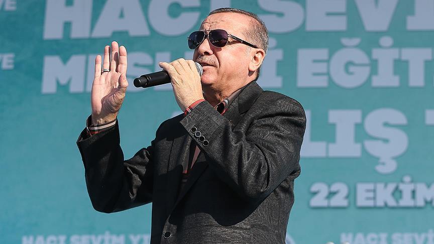 Erdoğan: El Bab'a da ineceğiz