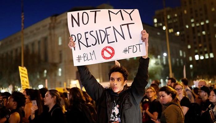 ABD'deki gösterilerde bir kişi vuruldu