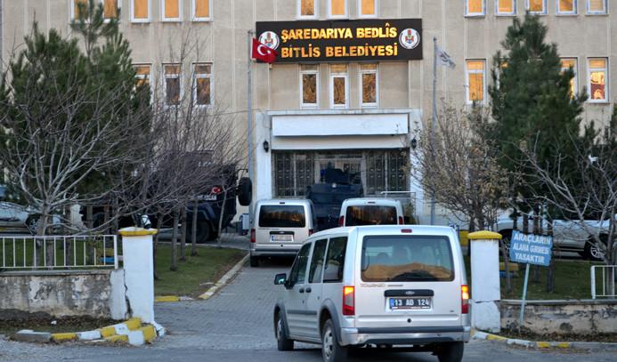 Bitlis Belediyesine operasyon