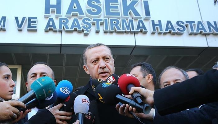 Erdoğan: Mücadeleyi sonuna kadar sürdüreceğiz