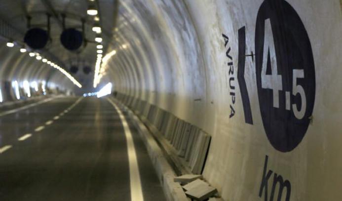 İşte Avrasya Tüneli'nin içi