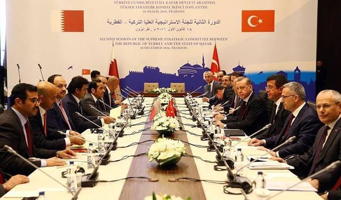 Katar ile anlaşmalar imzalandı