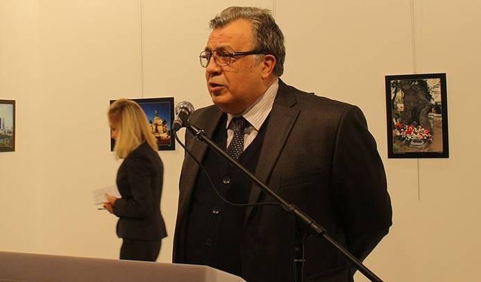 Rusya Büyükelçisi Ankara'da suikaste uğradı