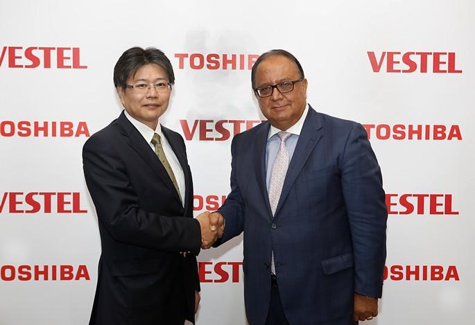 Vestel, Toshiba'yla lisans anlaşması imzaladı