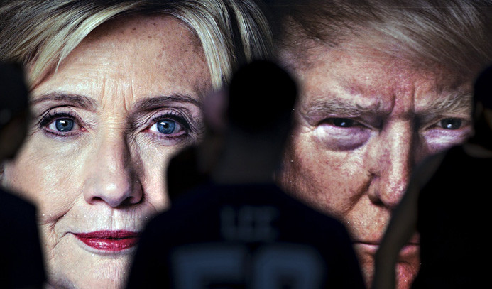 Clinton ve Trump'tan ilk düello