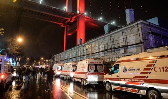 İstanbul'da gece kulübüne silahlı saldırı