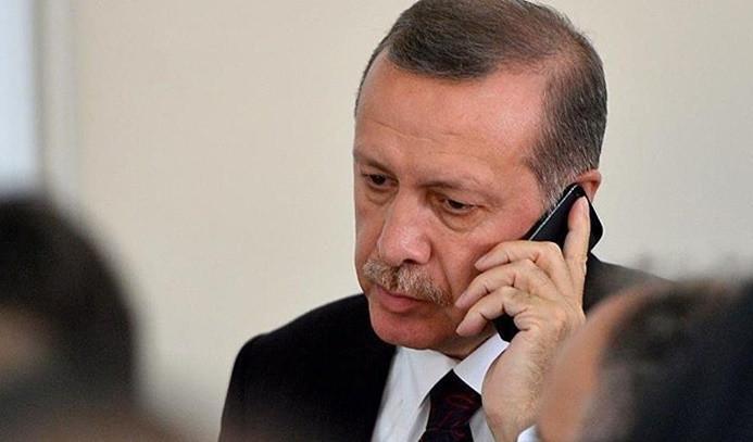 Erdoğan, saldırıyla ilgili bilgi aldı