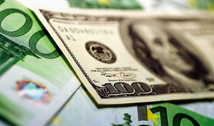 Dolarda sınırlı düşüş, euroda yeni rekor