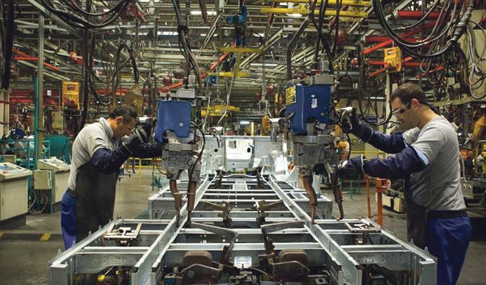 Almanya'da imalat PMI üç yılın zirvesinde