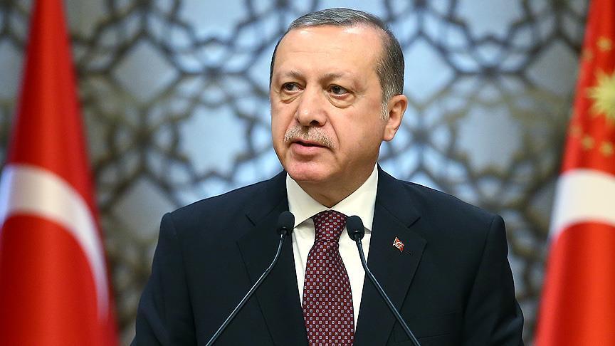 Erdoğan'dan 'anket' açıklaması