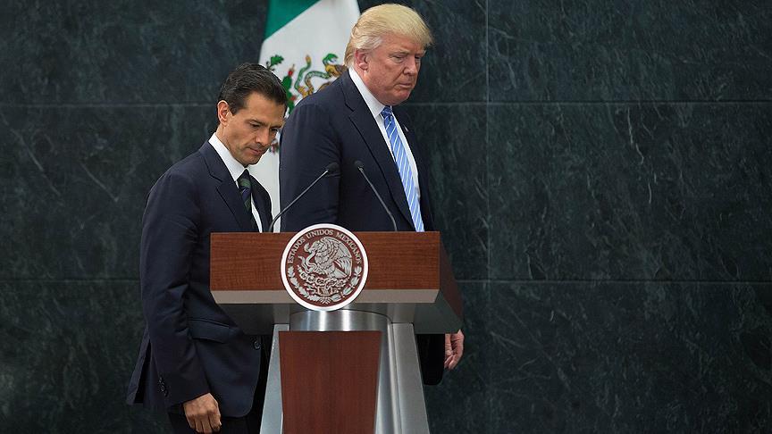 Meksika'dan Trump'a 'duvar' resti