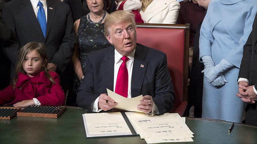 Trump, vize kararnamesini imzaladı