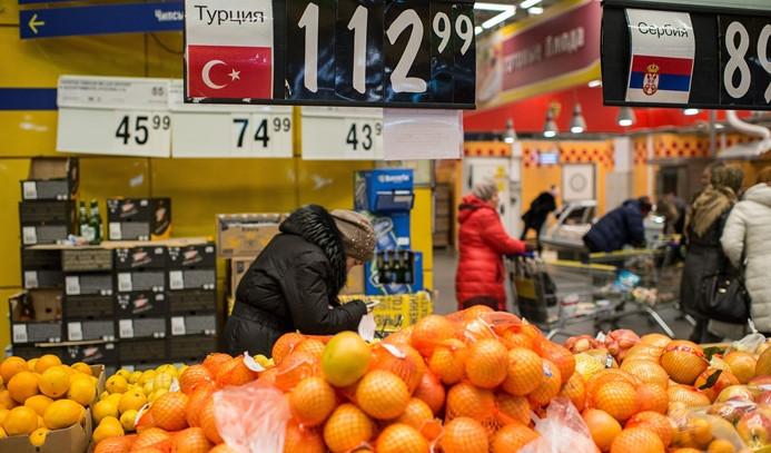 Rusya gıda ithalatını azaltıyor