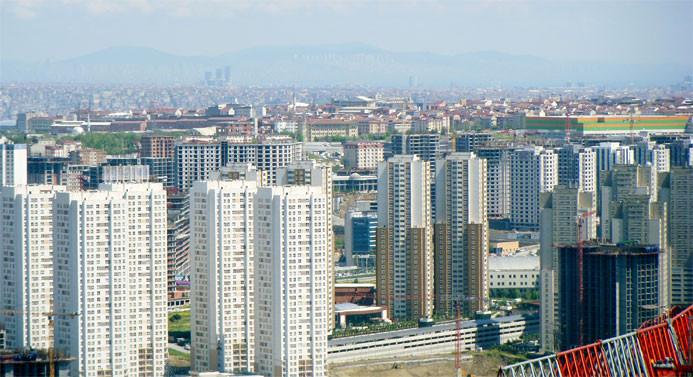 İstanbul'da en çok konut yapılan 5 ilçe