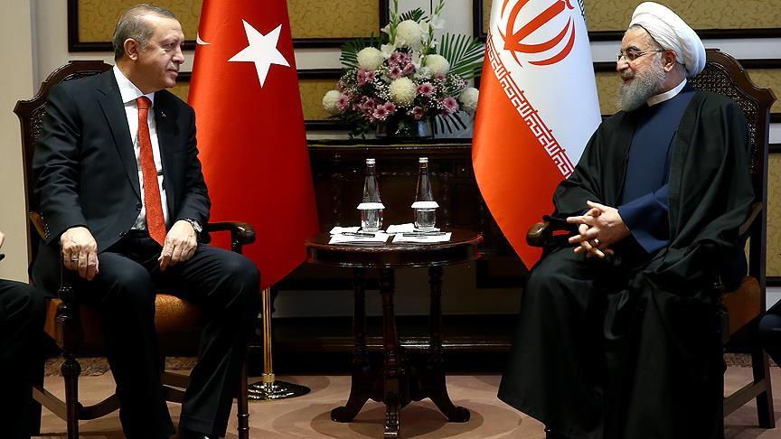 Erdoğan Ruhani ile görüştü