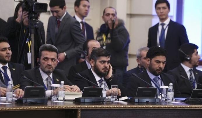 Suriye muhalefeti Astana'ya katılmıyor