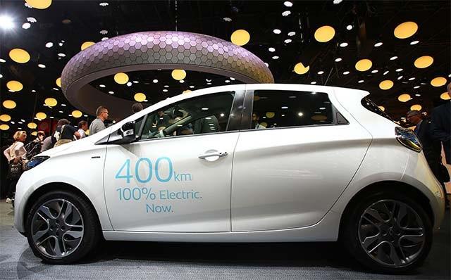 İşte İstanbul'un yeni elektrikli taksileri Renault Zoe 400'ler