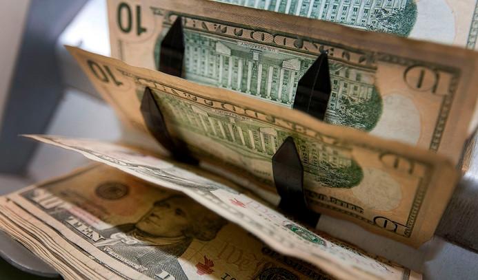 Dolar, hızla geri çekildi