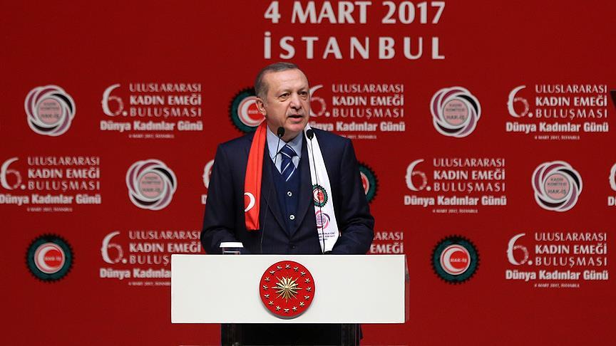 Erdoğan: 16 Nisan tezgahı bozma günüdür