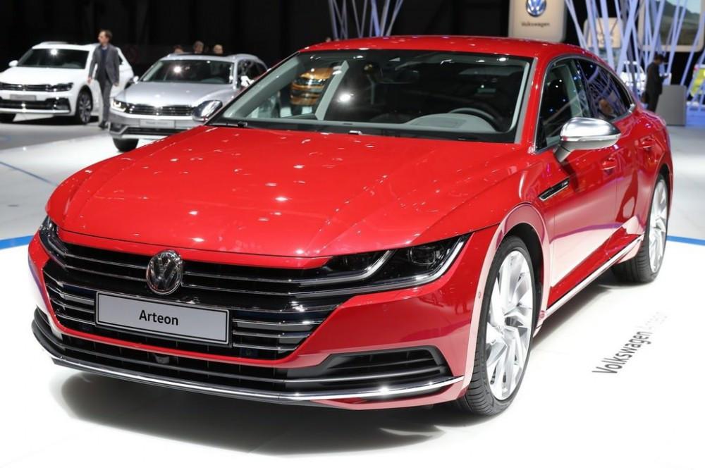 Volkswagen Arteon Cenevre De D 252 Nya Gazetesi