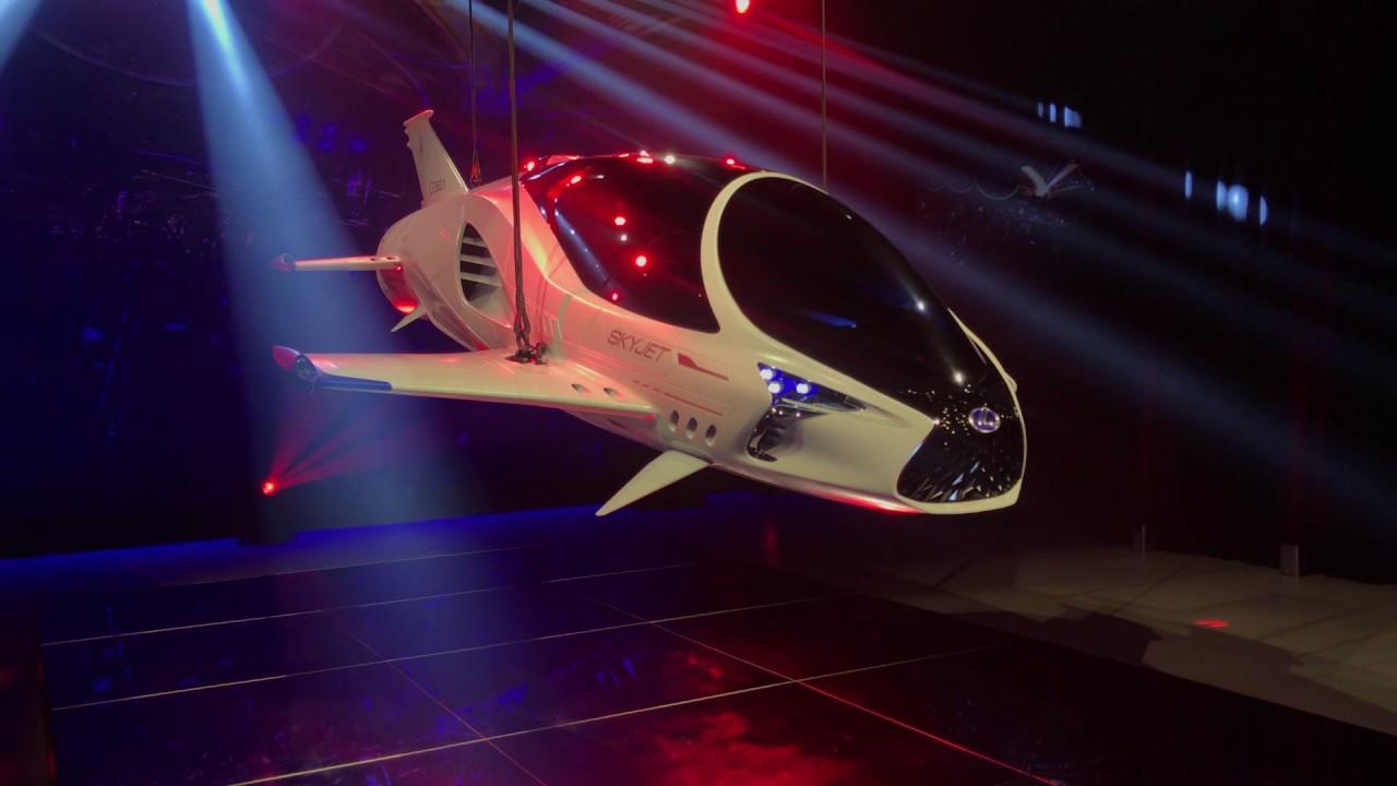 Lexus, İstanbul Autoshow'da uzay aracını sergileyecek
