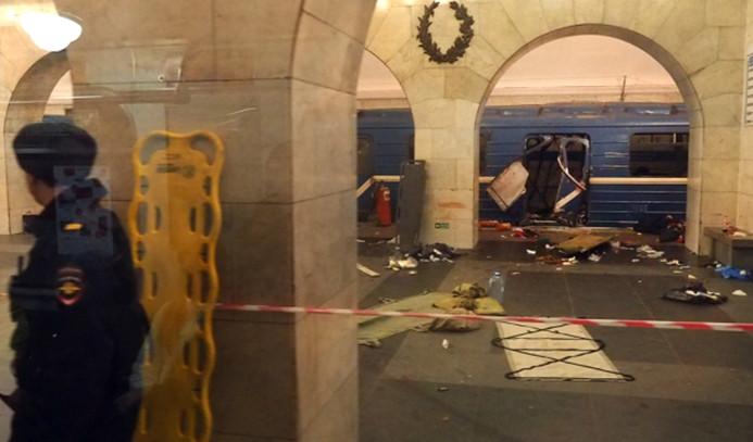 Metro saldırısında ölü sayısı 14'e yükseldi