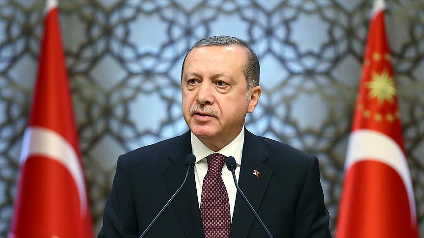 Erdoğan: Trump'ın açıklaması lafta kalmasın