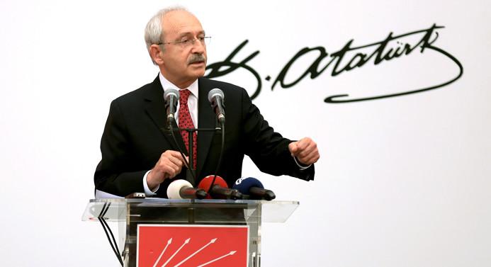 Kılıçdaroğlu: Sözcü'ye yapılmış operasyon Türkiye'ye yapılmıştır