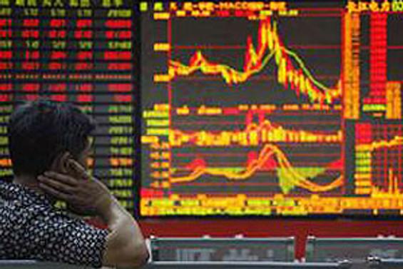Çin Borsası'nda tarihi düşüş