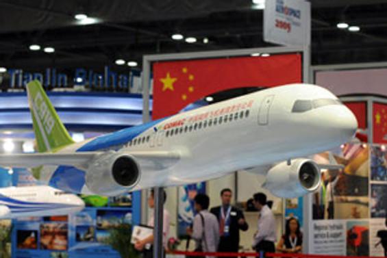"""Çin """"C919"""" 100 adet sipariş aldı"""