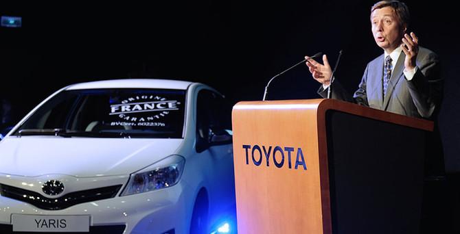 Toyota'da bir ilk