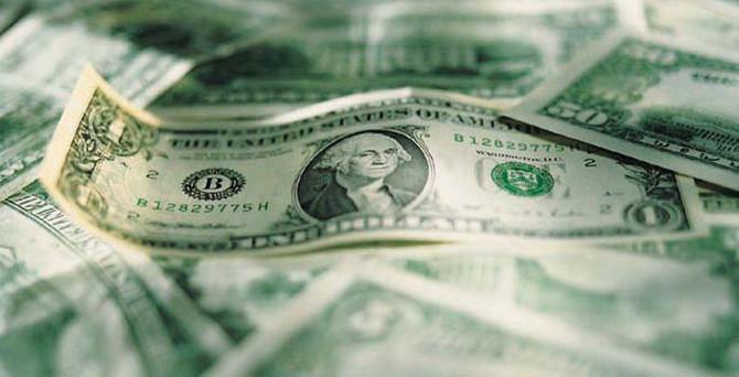 Dolar tarihi zirveden döndü