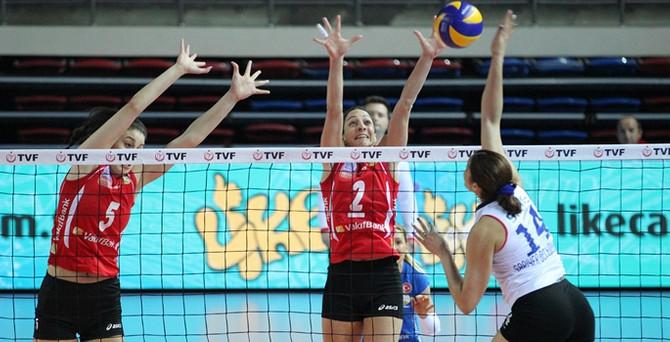 VakıfBank üçüncü Avrupa Şampiyonluğu için sahada