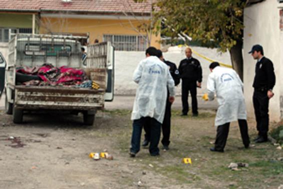 Malatya'da 'uzun namlulu' cinayet