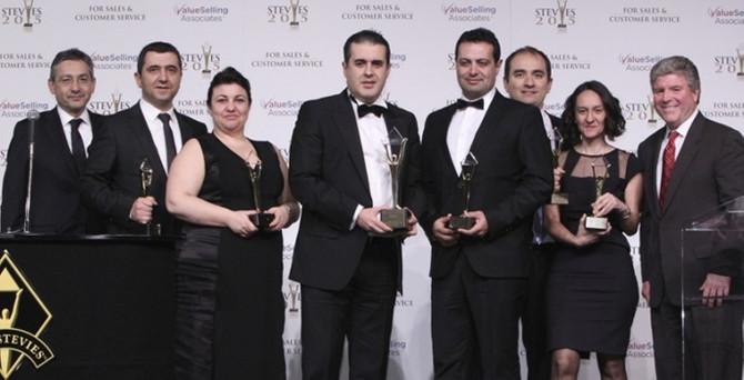 DenizBank, Stevie Awards'dan 20 ödülle döndü
