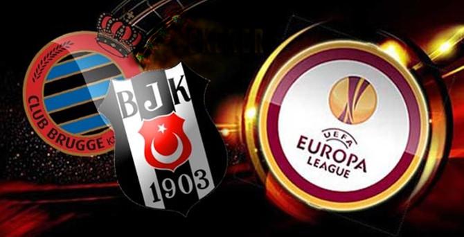Taraftarlar Beşiktaş - Club Brugge maçını da boş geçmedi